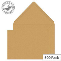 Purely Everyday Banker Invitation Gummed Manilla C5 162x229 90gsm (Pack of 500)