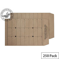 Purely Everyday Internal Mail Pocket UnGum Manilla 120gsm C4 (Pack of 250)
