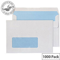 Purely Everyday White Wallet Window C6 (Pack of 1000)