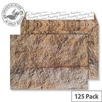 Creative Senses Jurassic Limestone Pattern Wallet C5 Envelopes (Pack of 125)