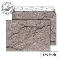 Creative Senses Dartmoor Granite Pattern Wallet C5 Envelopes (Pack of 125)