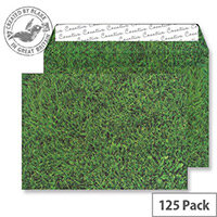 Creative Senses Fresh Mown Grass Pattern Wallet C5 Envelopes (Pack of 125)