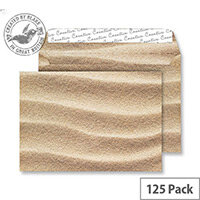 Creative Senses Sahara Sand Pattern Wallet C5 Envelopes (Pack of 125)
