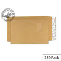 Blake Premium Avant Garde Pocket Window P&S Cream Manilla C4 130gsm (Pack of 250)