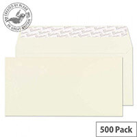Blake Oyster DL Premium Business Wallet Wove Envelopes 120gsm Pack of 500