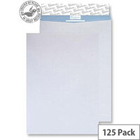 Blake Premium Secure Pocket P&S White C5 229x162mm 125gsm Tear Resistant (Pack of 125)