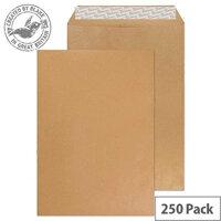 Envelope C4 115gsm Manilla Self-Seal (Pack of 250)