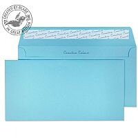 Creative Colour Cotton Blue DL+Wallet Envelopes (Pack of 500)