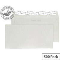 Creative Colour French Grey DL+ Wallet Envelopes (Pack of 500)