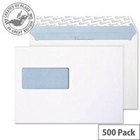 Blake Premium Office Wallet Window P&S Ultra White Wove C5 120gsm (Pack of 500)