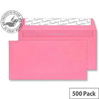 Creative Colour Flamingo Pink DL+ Wallet Envelopes (Pack of 500)