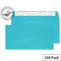 Creative Colour Cocktail Blue DL+Wallet Envelopes (Pack of 500)