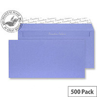 Creative Colour Summer Violet DL+ Wallet Envelopes (Pack of 500)