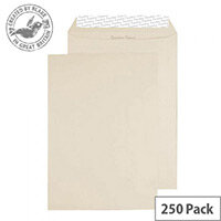 Creative Colour Soft Ivory Pocket C4 Pocket Envelopes (Pack of 250)