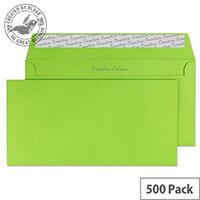 Creative Colour Lime Green DL+ Wallet Envelopes (Pack of 500)
