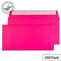 Creative Colour Shocking Pink DL+ Wallet Envelopes (Pack of 500)