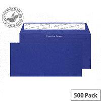 Creative Colour Victory Blue DL+ Wallet Envelopes (Pack of 500)