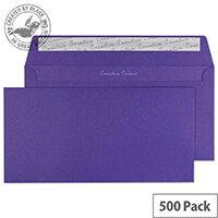Creative Colour Blackcurrant Wallet DL+ Envelopes (Pack of 500)