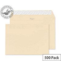 Blake Premium Business Cream Wove C5 Envelopes (Pack of 500)