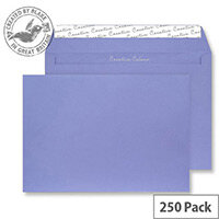 Creative Colour Summer Violet Wallet C4 Envelopes (Pack of 250)