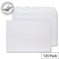 Creative Senses Wallet P&S White Velvet 140gsm C5 162x229mm (Pack of 125)