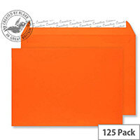 Creative Senses Wallet Orange Velvet C5 Envelopes (Pack of 125)