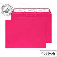 Creative Colour Shocking Pink Wallet C4 Envelopes (Pack of 250)