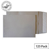 Creative Colour Storm Grey Gusset C4 Pocket Envelopes (Pack of 125)