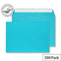 Creative Colour Cocktail Blue C5 Envelopes (Pack of 500)