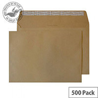 Creative Colour Biscuit Beige Wallet C5 Envelopes (Pack of 500)