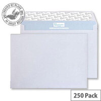 Blake Premium Secure Wallet P&S White C5 162x229mm 125gsm (Pack of 250)
