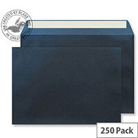 Creative Shine Pearlescent Midnight Blue C5 Wallet Envelopes (Pack of 250)