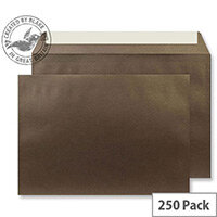 Creative Shine Pearlescent Antique Bronze C5 Envelopes (Pack of 250)