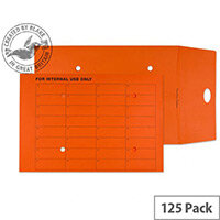 Purely Everyday Internal Envelopes Mail Resealable Pumpkin Orange C4 25mm (Pack of 125)