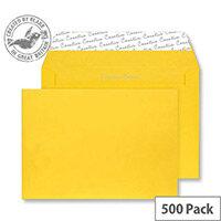 Creative Colour Egg Yellow C5 Wallet Envelopes (Pack 500)