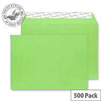 Creative Colour Lime Green C5 Wallet Envelopes (Pack 500)