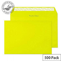 Creative Colour Acid Green Wallet Envelopes C5(Pack of 500)