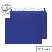 Creative Colour Victory Blue Peel and Seal C5 Wallet Envelopes (Pack of 500)