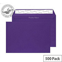 Creative Colour Blackcurrant Wallet C5 Envelopes (Pack of 500)