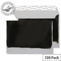 Blake Creative Shine C5 140g/m2 Peel and Seal Wallet Envelopes Chrome Plated  Pack of 100