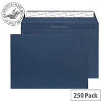 Creative Colour Oxford Blue Wallet C4 Envelopes (Pack 250)
