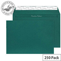 Creative Colour British Racing Green Wallet C4 Envelopes (Pack of 250)