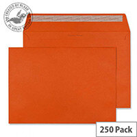 Creative Colour Marmalade Orange Wallet C4 Envelopes (Pack of 250)