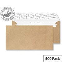 Creative Shine Metallic Gold DL+ Wallet Envelopes (Pack of 500)