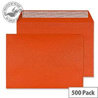 Creative Colour Marmalade Orange C5 Wallet Envelopes (Pack of 500)