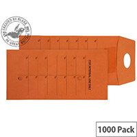 Purely Everyday Orange Manlla DL Mail Pocket Reseal Envelopes (Pack of 1000)