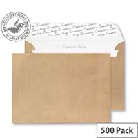 Creative Shine Metallic Gold Peel and Seal Wallet C5 Envelopes (Pack of 500)