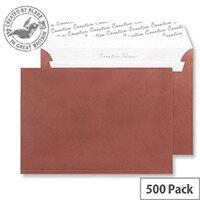 Creative Shine Metallic Bronze Wallet C5 Envelopes (Pack of 500)