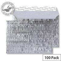 Creative Shine Metal Ripple C5 Wallet Envelopes (Pack of 100)