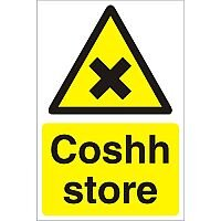 Construction Safety Board 400x600 Safety Sign 4mm Fluted Coshh Store